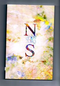 New Shoots Anthology 2010/2011, front cover